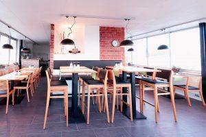 Inneneinrichtung eines Restaurants